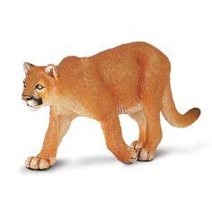 Mountain Lion North American Wildlife Figure Safari Ltd