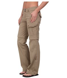 Prana Sage Convertible Pant Dark Khaki - Zappos.com Free Shipping BOTH Ways