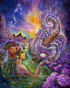 Scorpio by Josephine Wall