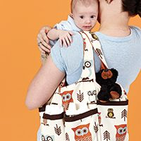 Sew It All Magazine - Diaper bag with lots of pockets - Volume 6