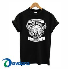 black sabbath – war pigs T-shirt men, women adult unisex size S to 3XL