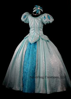 Disney Parks Ariel Ball Gown, The Little Mermaid Cosplay Broadway Costumes, Ballet Costumes, Adult Costumes, Cosplay Costumes, Robes Disney, Disney Dress Up, Disney Cosplay, Cinderella Cosplay, Ariel Cosplay