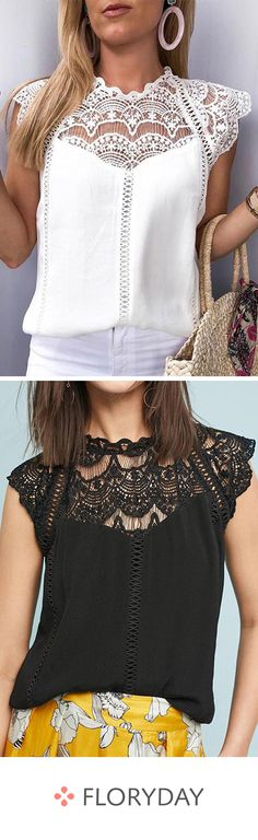Elegant blouse with a round neckline and cap sleeves – Demo Ideas Teen Dresses Casual, Cute Dresses, Short Dresses, Swimming Hairstyles, Casual Winter, Casual Summer, Mode Outfits, Teen Outfits, Blouse Styles
