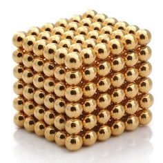 Magnet Balls in Gold