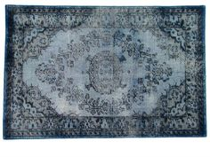 products details - Presale New! - extra overdyed rug grey/blue (180x280)
