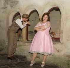 Anne Timmermans en haar man waren nog geen paar uur getrouwd of meneer ging al flirten met Doornroosje
