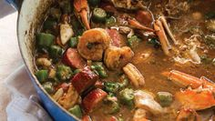 New Orleans restaurateur offers his take on a classic Louisiana dish. Recipe: ​Mamma's Seafood Gumbo from chef John Besh