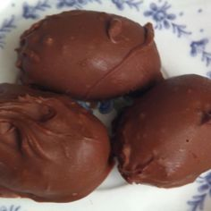 """Marshmallow Peanut Butter Easter Eggs """"Marshmallow and peanut butter come together to make the most delectable Easter candies!"""""""