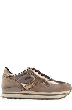 Discount Websites Cheapest Price Hogan Suede Platform Sneakers jFZpA3w