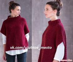 Simple Cross Stitch, Fashion Sewing, Crochet Stitches, Knit Dress, Casual Looks, Knitwear, Knitting Patterns, Knit Crochet, Cool Style