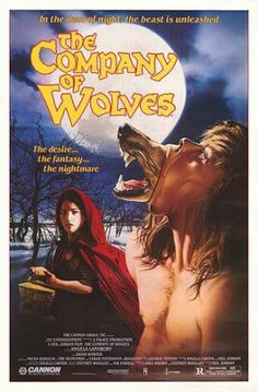 A collection of 60 of the best horror movie posters of all time.: The Company of Wolves (1984)