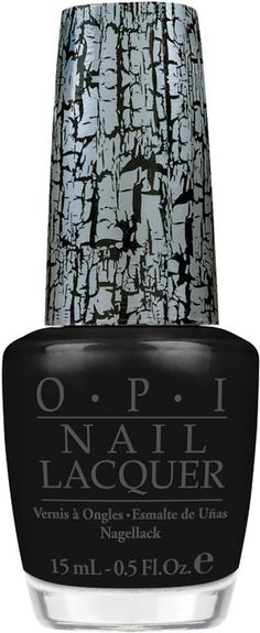 black shatter... never gets old... always a great funky mani!