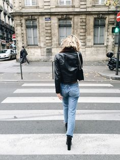 @adenorah THE PERFECT LEATHER JACKET