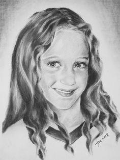 Portrait personnalisé dessin original A4 ou A3 Taille papier