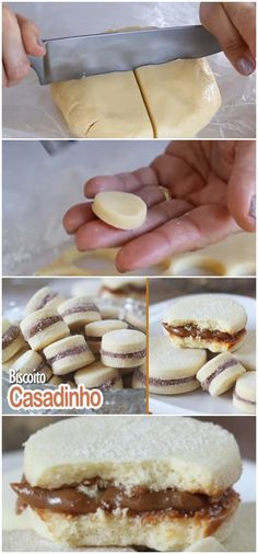 Jewellery For Lady - Cookie Recipes, Dessert Recipes, Tastemade Recipes, Delicious Desserts, Yummy Food, Portuguese Recipes, I Love Food, Cookies, Food Inspiration