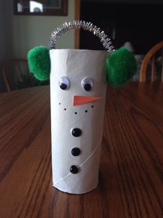 For the holidays! Toilet paper roll craft idea