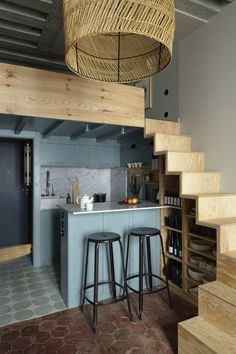 35 Wonderful Small Loft Ideas May Help You loft, apartment deign, small loft ide. 35 Wonderful Small Loft Ideas May Help You loft, apartment deign, small loft ideas Tiny House Loft, Tiny House Living, Tiny House Design, Tiny Loft, Living Room, Duplex House, Small Living, Small Loft Spaces, Small Loft Apartments