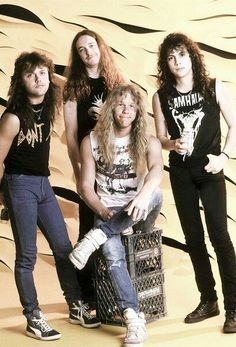 Metallica early years !!