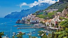 A Harbour in Sicily Italy