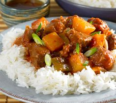 Slow Cooker Sweet and Sour Pork: A Chinese-style dish using budget-friendly pork shoulder steaks.