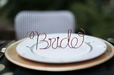 copper wire table names