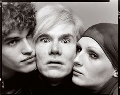 Richard Avedon, Andy Warhol, Jay Johnson & Candy Darling, New York, 20 Août 1969 © the Richard Avedon Foundation