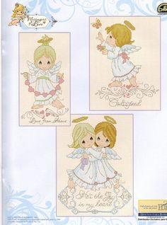 Designs by Gloria and Pat PM80 Good Night Messengers Of Love - Cross Stitch Pattern. Good night Messengers of Love contains 15 patterns.  To covert to crochet graphs