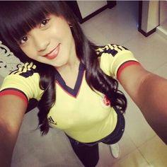 """5 Me gusta, 1 comentarios - Selección Colombia fanáticas. (@selcolombiafan) en Instagram: """"@jesicacuesta #JesicaCuesta #SelColombiaFan #SeleccionColombia #ConLaTricolorPuesta #VamosColombia…"""""""