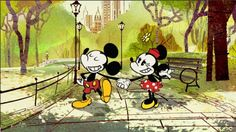 New Mickey Mouse Cartoon New York Weenie - Betty White guest voice :)