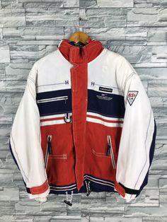 Vintage Ski Jacket, Sailing Gear, Ck Jeans, Bomber Coat, Ski Wear, Concept Board, Adidas Hoodie, Used Clothing, Hoodie Jacket