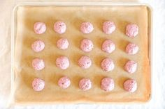 Strawberry Truffle Recipe: 7 Steps (with Pictures) Strawberry Truffle, Truffle Recipe, Chocolate Coating, Truffles, Dairy Free, Frozen, Vegan, Sweet, Balls