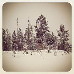 #saariselkä #saariselan_keskusvaraamo #lapland #finland #north_village #northern_lapland http://www.saariselka.com