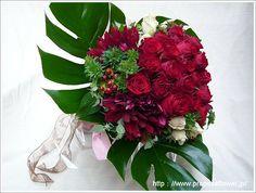 赤い薔薇花束