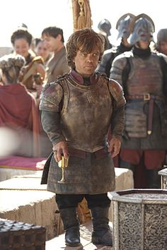 I must say, Peter Dinklage plays the character of Tyrion Lannister really well, and he is one of my favourite characters in the book alongside Arya Stark. I don't know if that's because they seem to be the ones that have survived thus far but still...Tyrion is funny.