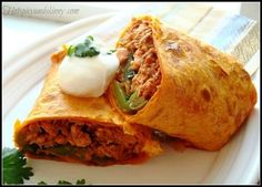 Healthy Spicy Salmon Wraps Recipe