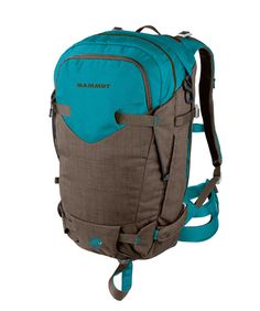 Niva Ride #Freeriding #backpacks #Mammut This functional women's backpack is perfect for all-mountain and freeriding activities. With functional equipment and high carrying comfort, it is ideal for one-day ski or snowboard tours as well as freeriding.