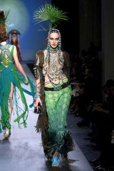 Jean Paul Gaultier Spring 2010 Couture Fashion Show - Thana Kuhnen (NATHALIE)