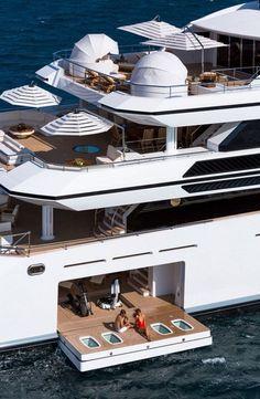 Beautiful yacht #yachts #luxury #millionaire