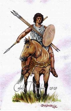 Catalin Draghici. An African horseman in Trajan's Dacian Wars. Carthage, North Africa, Enemies, Rome, African, Horses, History, Antiques, Animals