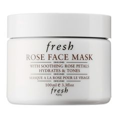 Shop Fresh's Rose Face Mask at Sephora. This hydrating gel mask is infused with real rose petals and pure rosewater for optimum moisture   Estée Lalonde