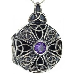 Celtic Connections, Celtic Warriors, Old Flame, Celtic Designs, Heart Locket, Amethyst Stone, Engraved Rings, Celtic Knot, Personalized Jewelry