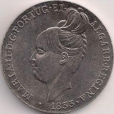 Motivseite: Münze-Europa-Südeuropa-Portugal-Euro-5.00-2013-Maria II