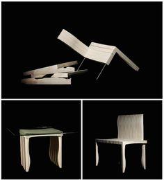 材料對設計永遠是個挑戰!看坂茂的紙建築跨界附身椅子上了? | 大人物