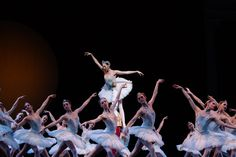 Laura Gilbreath Tisserand and Batkhurel Bold in PNB's Swan Lake