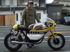 Yamaha YD 125 Cafe Racer - Buscar con Google