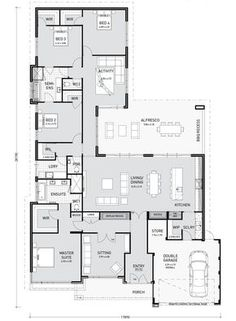 Floor Plan Friday: Activity room adjoins bedroom wing