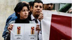 Egipto: un centenar de mujeres protestan contra muerte de activista