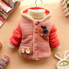 NEW YEAR CHRISTMAS baby girl clothes  winter coat by babygirldress, $21.99