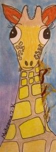Second Grade giraffes Classroom Art Projects, Art Classroom, First Grade Art, Second Grade, Animal Art Projects, Art Lessons Elementary, Art Lesson Plans, Art Activities, Teaching Art