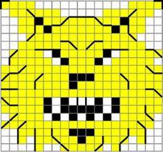 Tappara on terästä - tai vaikka villaa C2c Crochet, Fair Isle Pattern, Knitting Charts, Marimekko, Knitting Patterns, Logos, Minecraft, Embroidery, Scissors